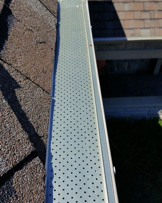 Alurex leafguard installaton Whitby Ajax Pickering OShawa