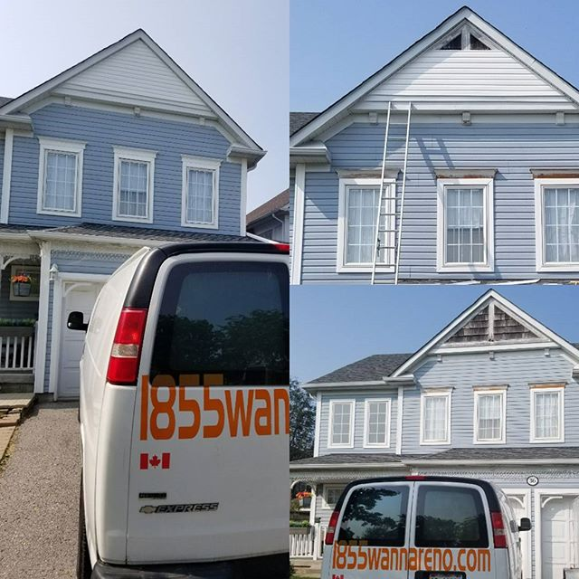 Siding installation done in Ajax. #sidingwhitby #sidingajax #sidingpickering #sidingoshawa #exterior