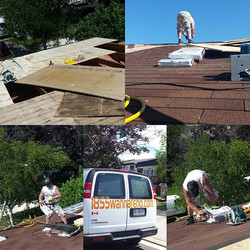 Roof replacement in Pickering