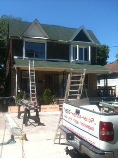toronto roof,soofit fascia eavestrough job