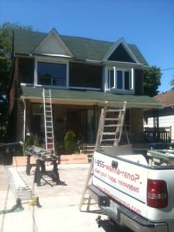 toronto roof,soofit fascia eavestrough job