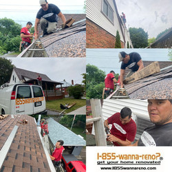 Eavestrough repair, eavestrough cleaning, downpipes and leafguard installation in Bowmanvi