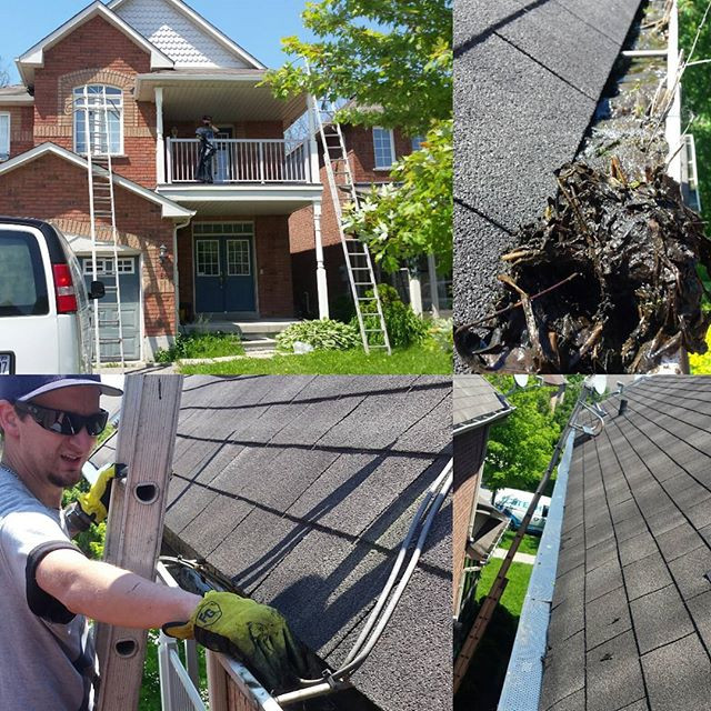 Eavestrough repair, Eavestrough cleaning and Leafguard installation in Durham