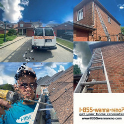 Eavestrough repair cleaning Whitby
