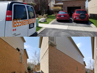 Siding repair done in Ajax