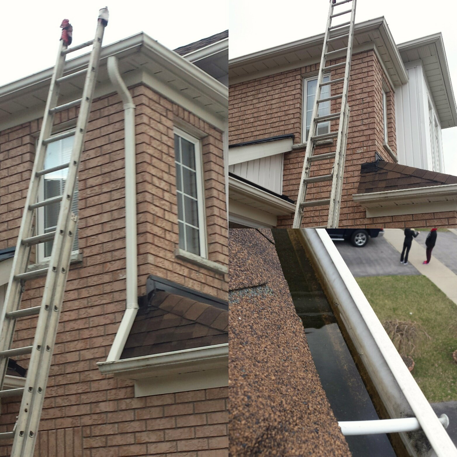 Roof and eavestrough repair