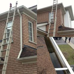 Roof and eavestrough repair