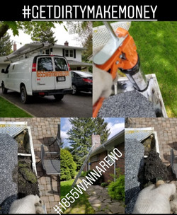 Eavestrough (gutter) repair and cleaning