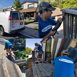 roofing and Deck job done In Toronto