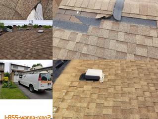 Roof repair in Ajax, Durham.ON