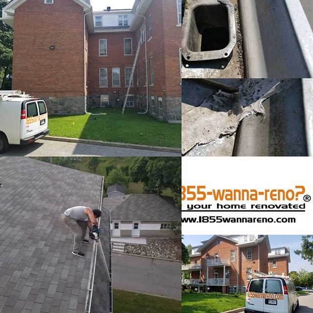 Eavestrough repair & cleaning Whitby