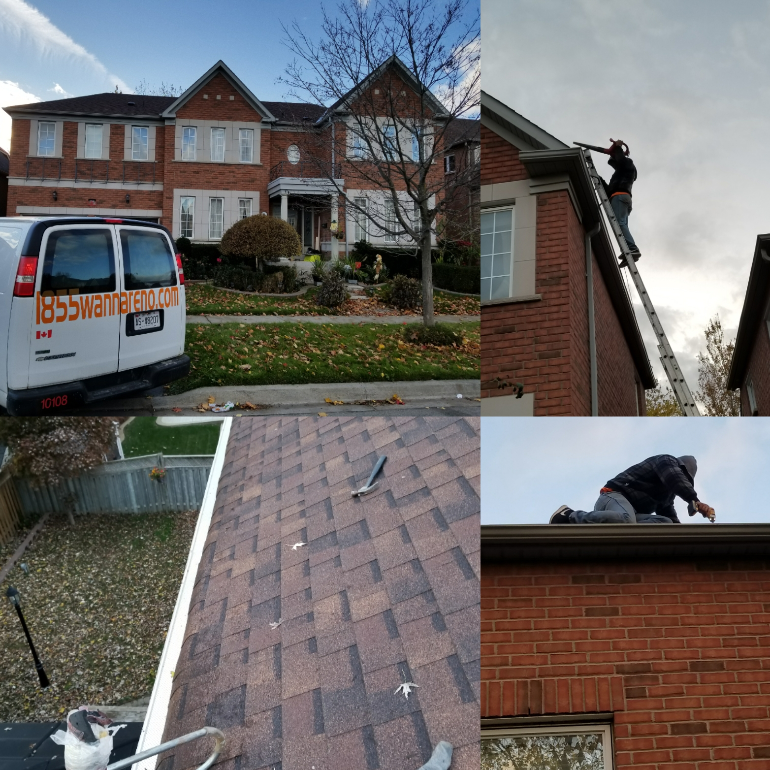 Leafguard & Eavestrough repair Ajax
