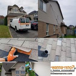 Roof repair, siding repair, fascia insta