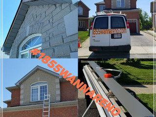 Fascia repair-installation in Pickering.