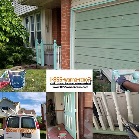 Exterior painting in Whitby