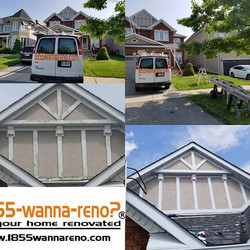 Exterior residential wood capping and ca