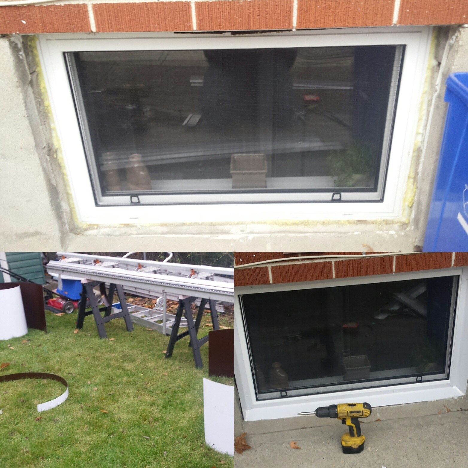 Aluminum Windows capping