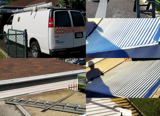 Flat roof and Siding repair in Pickering