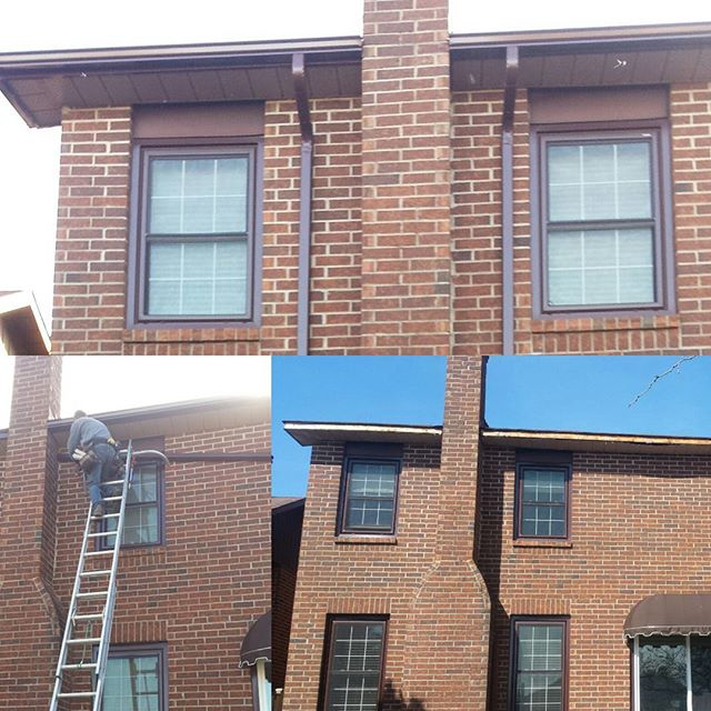 Eavestrough gutter install Whitby