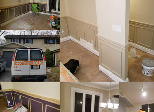 Residential painting job in Durham, Whitby,Oshawa,Ajax,Pickering