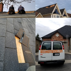 Roof repair done in Whitby