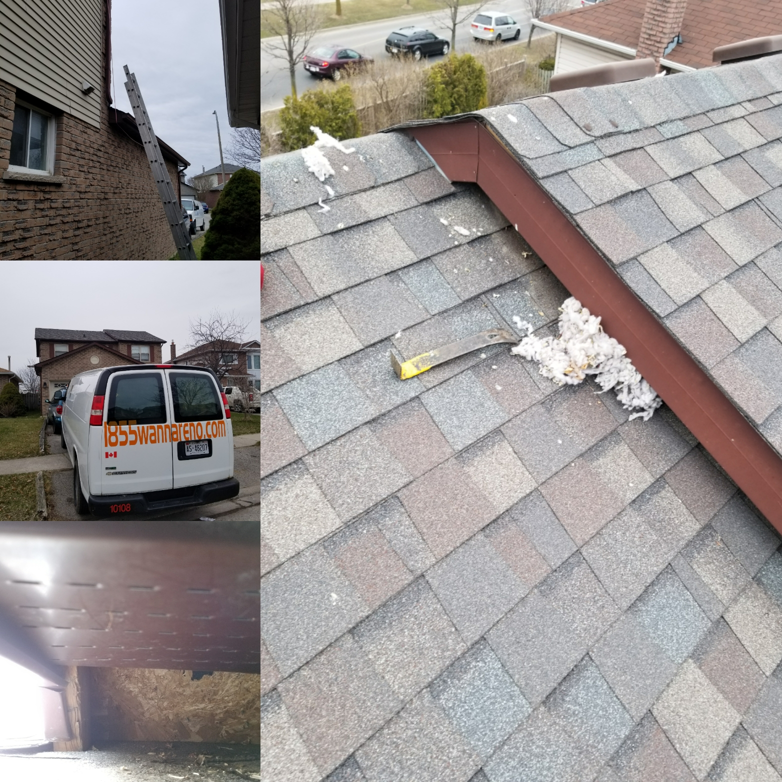 Soffit fascia repair in Whitby