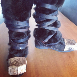 Thorin boots complete! #hobbit #thorin #thehobbit #boots #oakensheild #laprevo #mutantprops