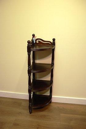 Elm Wood Corner Cabinet