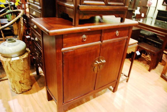 Antique 2 Drs 2 Drws Cabinet