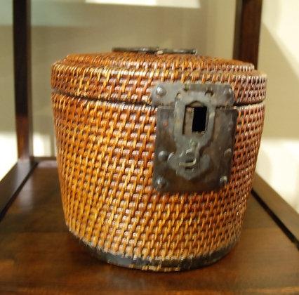 Chinese Antique Tea Pot Basket