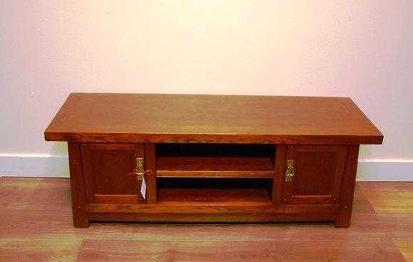 Elm Wood 2 Doors TV Cabinet