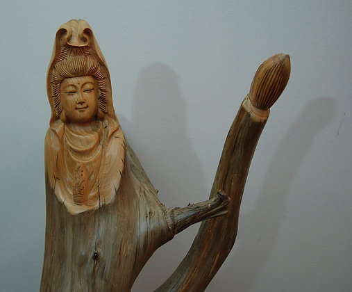Root Guanyin. Goddess of Mercy 觀世音