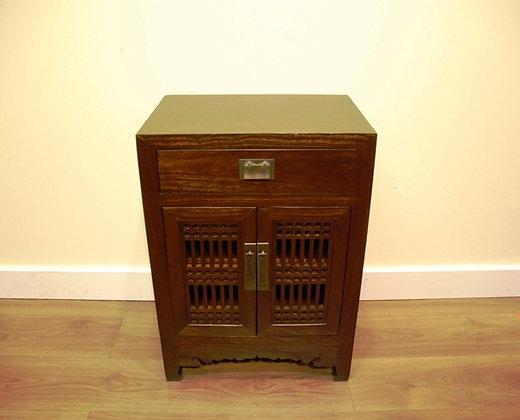 Elm Wood, 1 Drawer, 2 Doors,