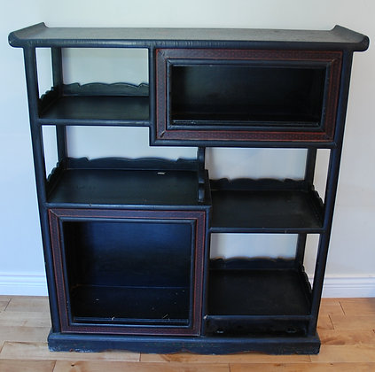 Black Lacquer Shelf