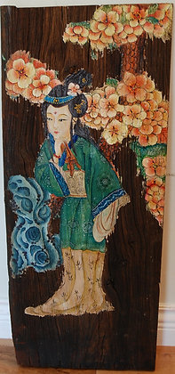 Antique Painted Panel