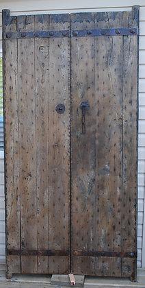 Antique Solid Door (pair)