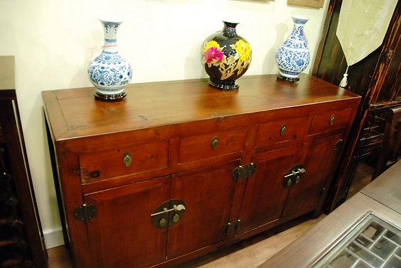 Antique 4 Drs 4 Drawers Cabinet