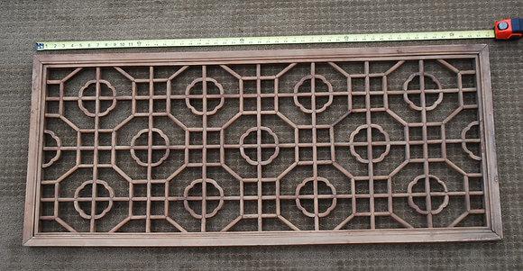 wood screen window