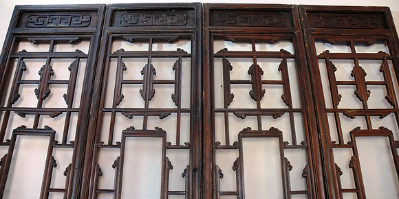 Antique Craved Doors (4Pcs)