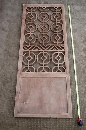 wood sceen window