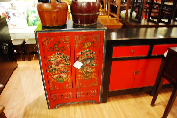 Painted 2 Doors Cabinet