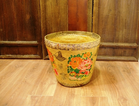 Antique Chinese Paper Basket