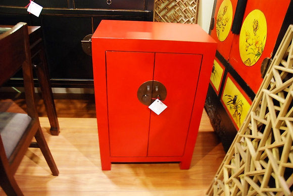 Red 2 Drs Cabinet