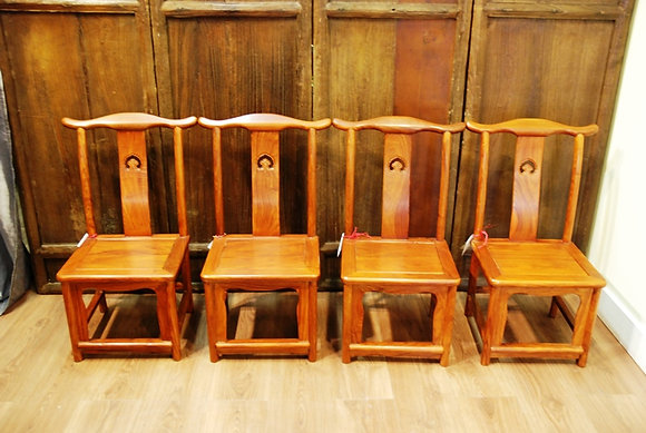 Rose Wood Small Chairs