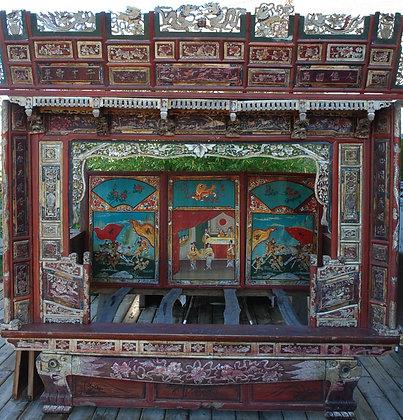 Antique Wedding Bed