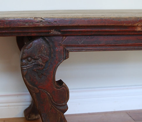 Antique Bench Table