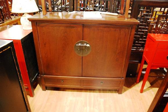 Elm Wood 2 Drs 2 Drws Cabinet