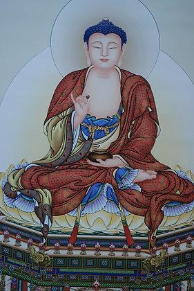 Buddha Painting 释迦牟尼佛