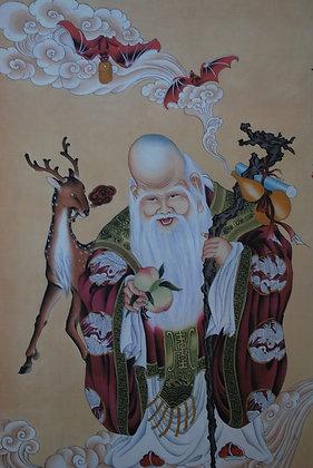 Buddha Painting God of Longevity 壽星