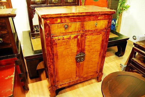 Antique 2 Doors 2 Drawers Cabinet